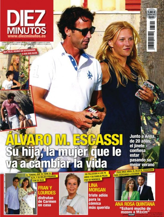 DIEZ MINUTOS portada 26 de Agosto 2015