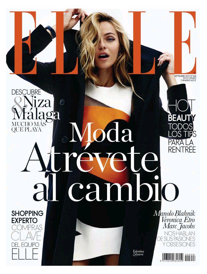 ELLE portada Septiembre 2015
