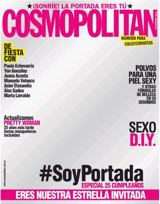 COSMOPOLITAN portada Noviembre 2015