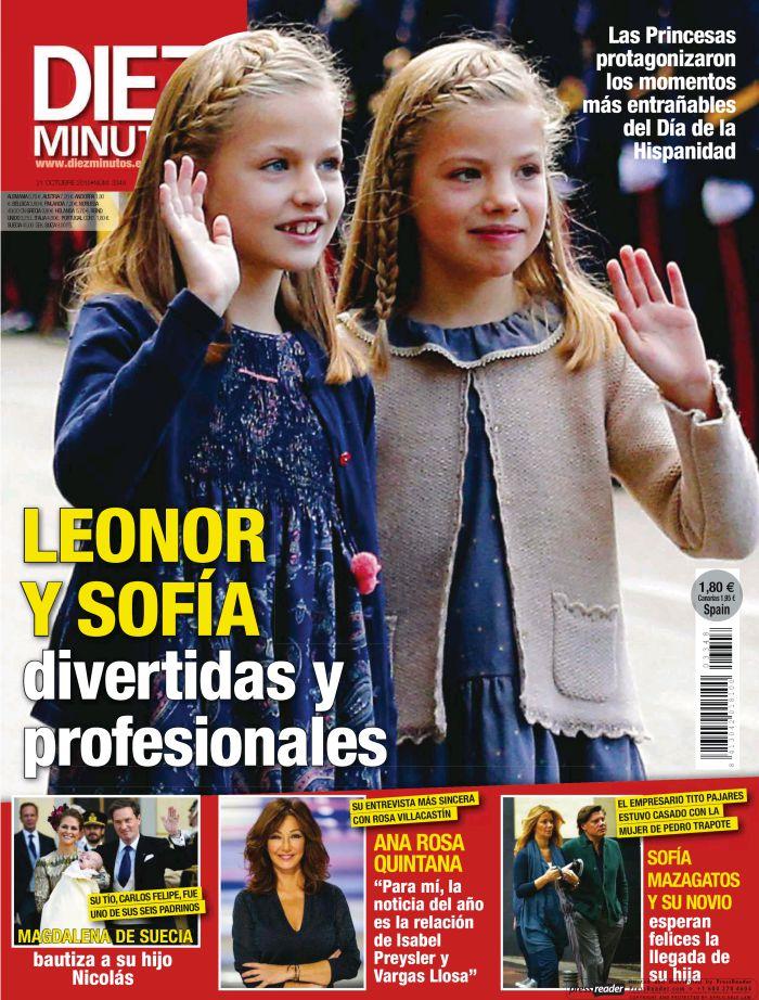 DIEZ MINUTOS portada de 14 Octubre 2015