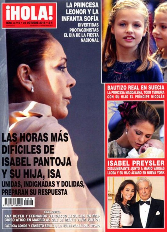 HOLA portada 14 de Octubre 2015