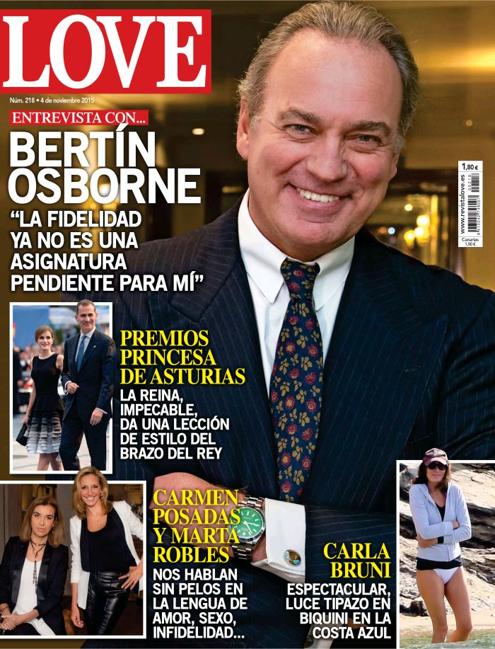 LOVE portada 28 de Octubre 2015