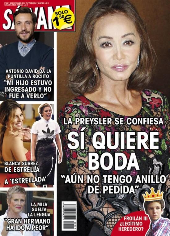 SALVAME portada 26 de Octubre 2015