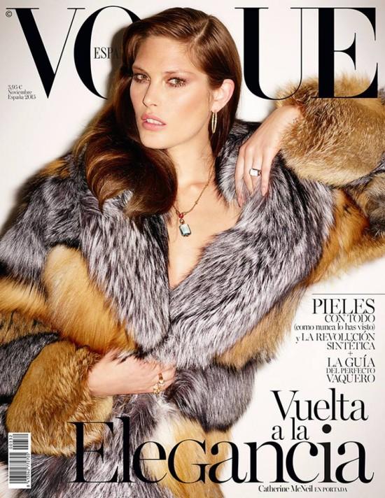 VOGUE portada Noviembre 2015