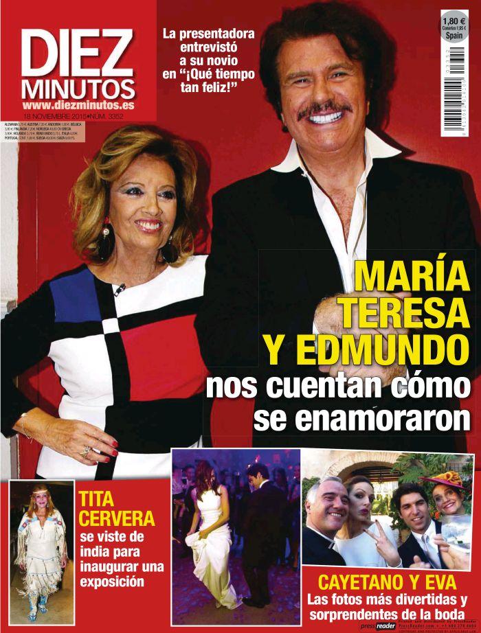 DIEZ MINUTOS portada 11 Noviembre 2015