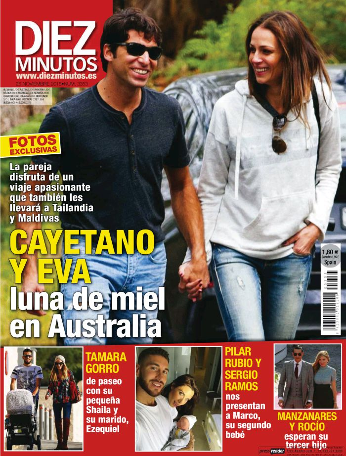 DIEZ MINUTOS portada 18 de Noviembre 2015
