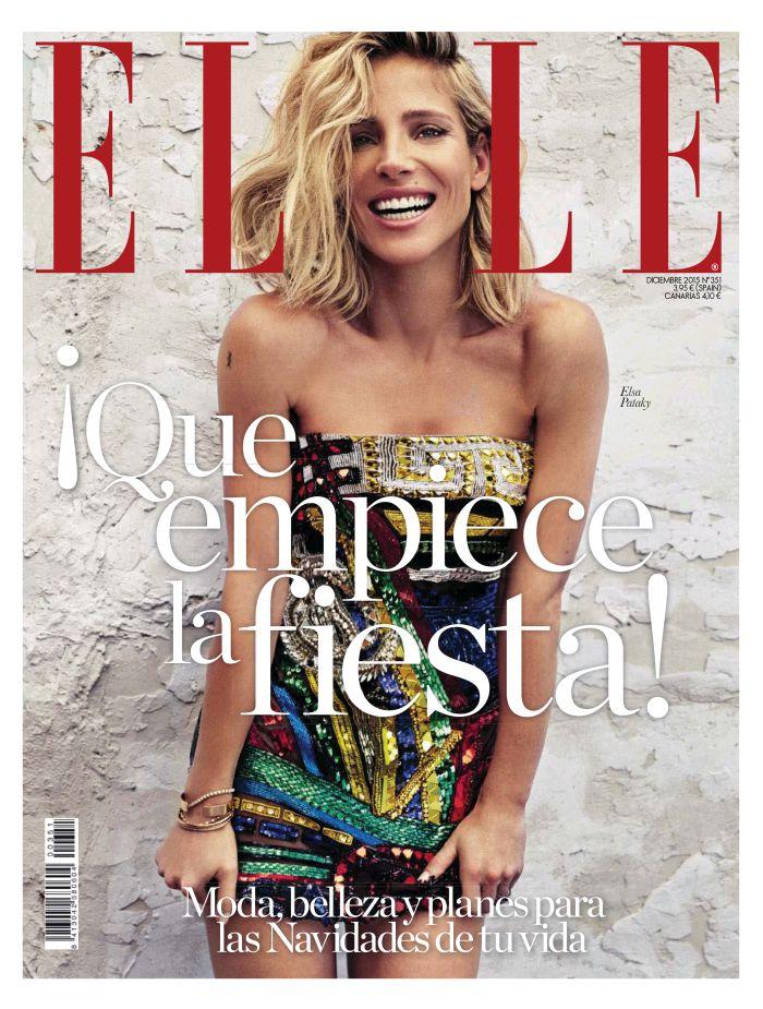 ELLE portada Diciembre 2015