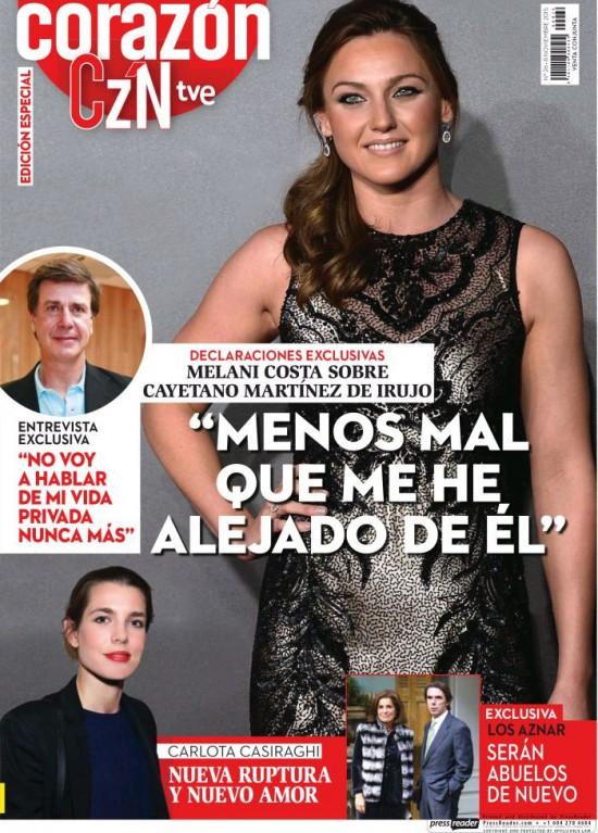 HOY CORAZON portada 8 de Noviembre 2015