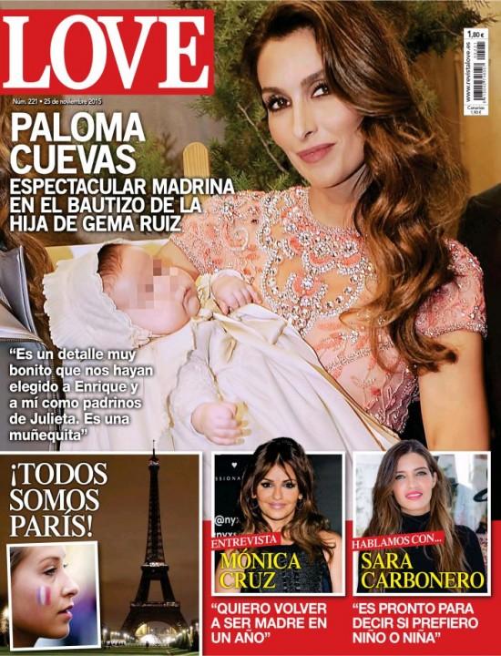LOVE portada 18 de Noviembre 2015