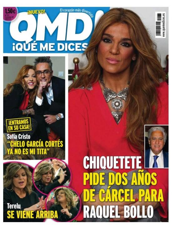 QUE ME DICES portada 30 de Noviembre 2015