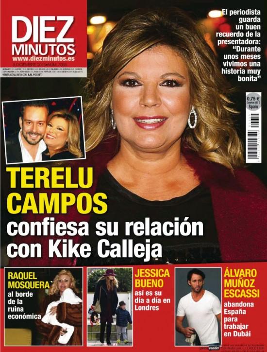 DIEZ MINUTOS portada 2 de Diciembre 2015