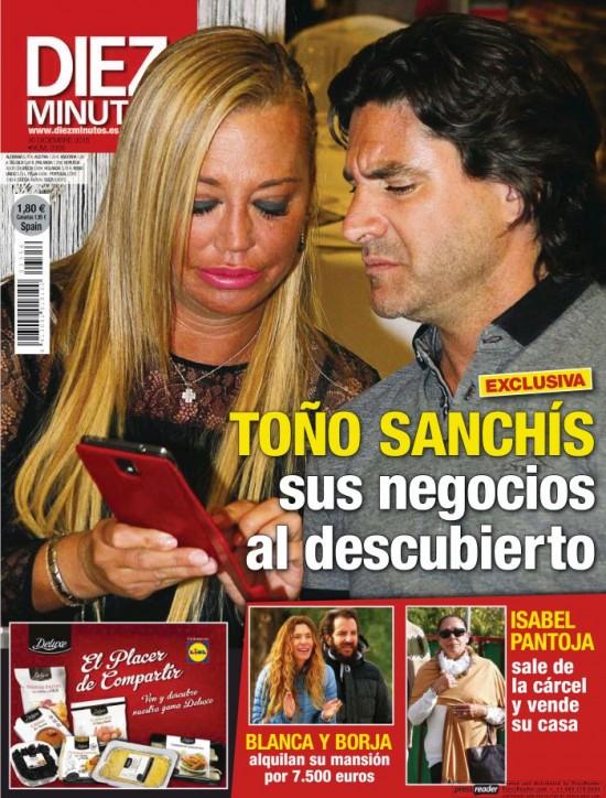 DIEZ MINUTOS portada 9 de Diciembre 2015