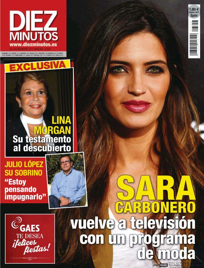 DIEZ MINUTOS portada 23 de Diciembre 2015