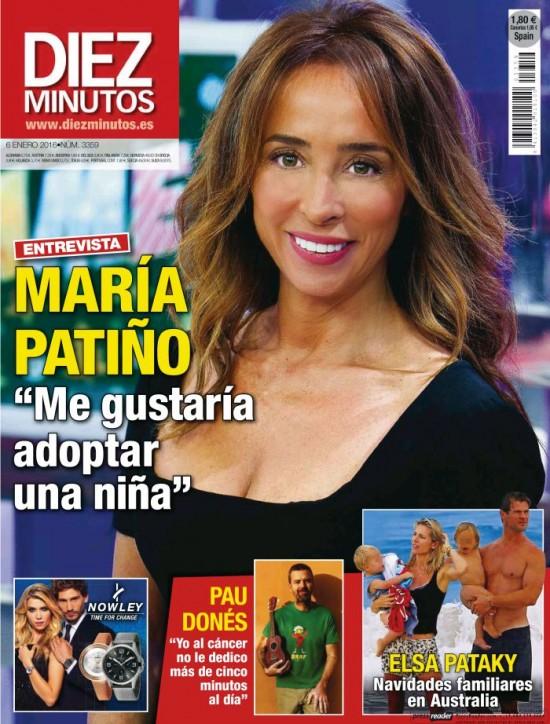 DIEZ MINUTOS portada 12 de Diciembre 2015