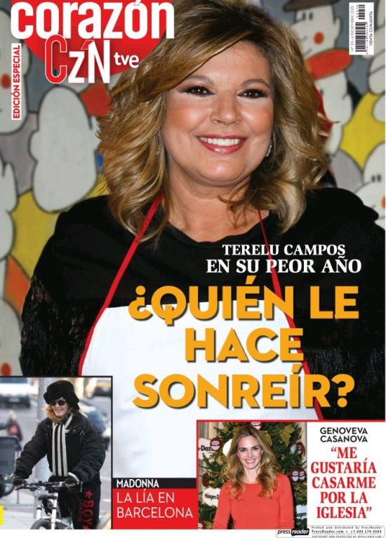 HOY CORAZON portada 6 de Diciembre 2015
