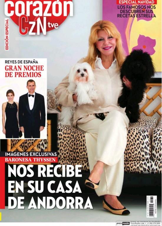 HOY CORAZON portada 21 de Diciembre 2015