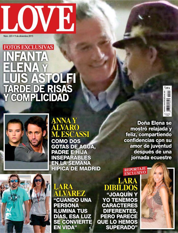 LOVE portada 2 de Diciembre 2015