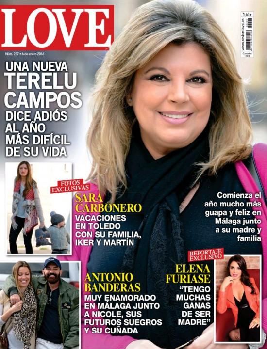 LOVE portada 30 de Diciembre 2015