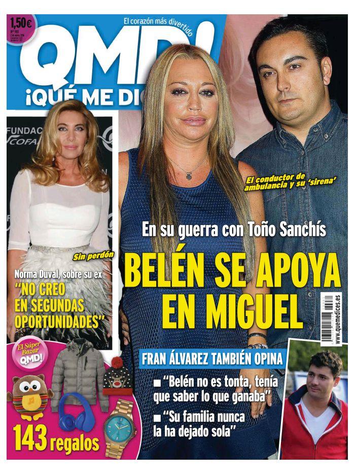 QUE ME DICES portada 12 de Diciembre 2015