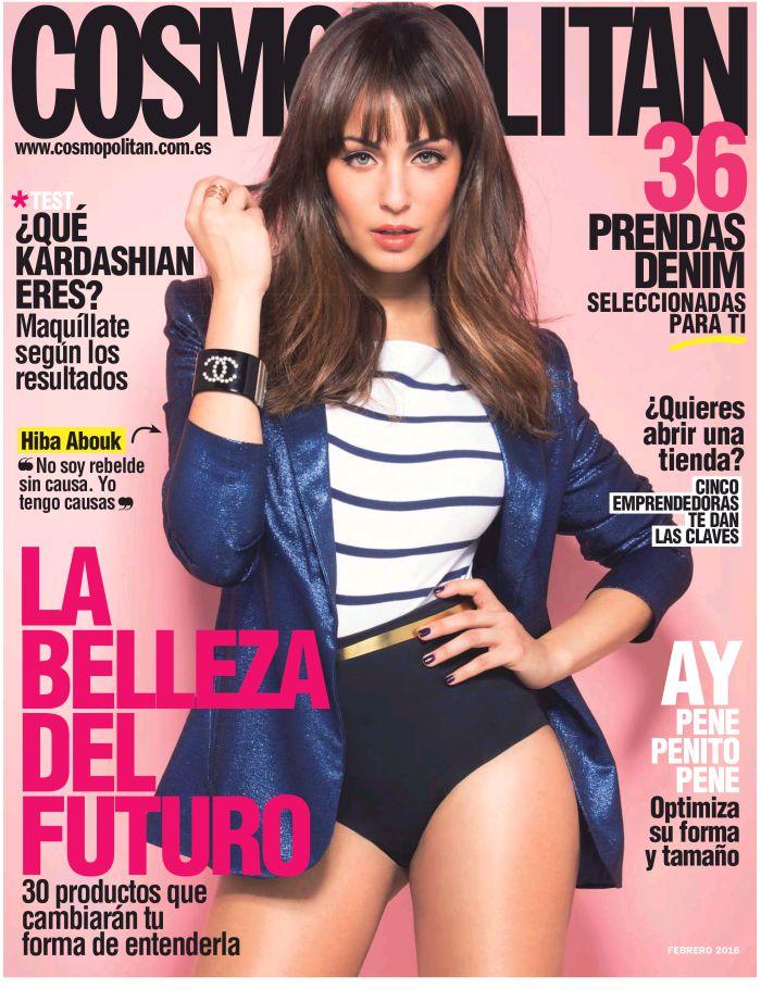 COSMOPOLITAN portada Febrero 2016