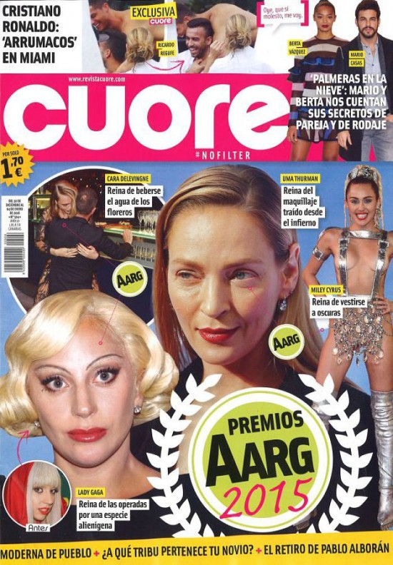 CUORE portada 30 de Diciembre 2015