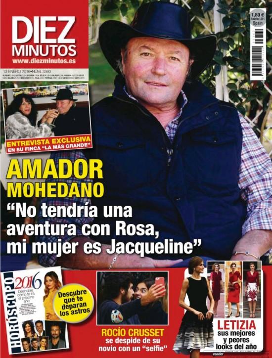 DIEZ MINUTOS portada 6 de Enero 2016