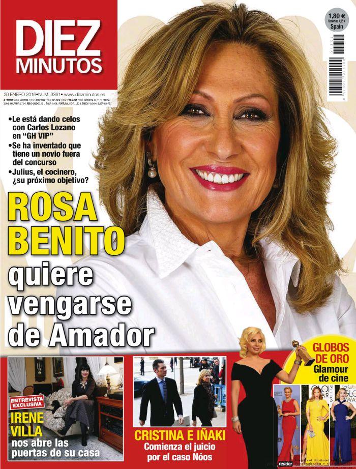DIEZ MINUTOS portada 13 de Enero 2016
