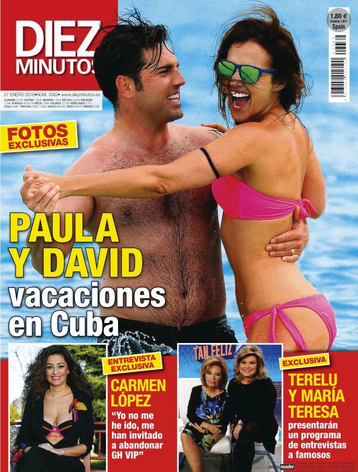 DIEZ MINUTOS portada 20 de Enero 2016