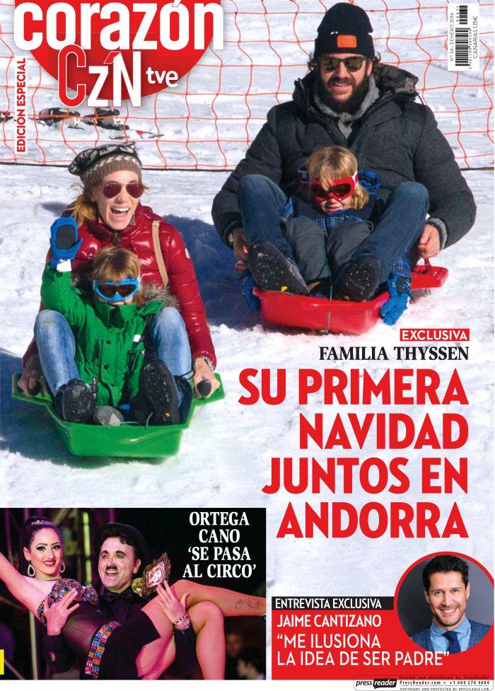 HOY CORAZON portada 4 de Enero de 2016