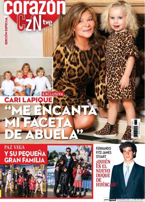 HOY CORAZON portada 18 de Enero 2016