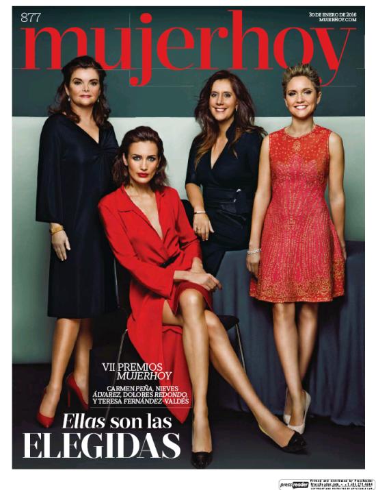 MUJER HOY portada 31 de Enero 2016