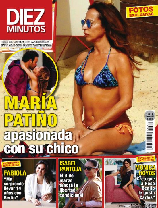 DIEZ MINUTOS portada 3 de Febrero 2016