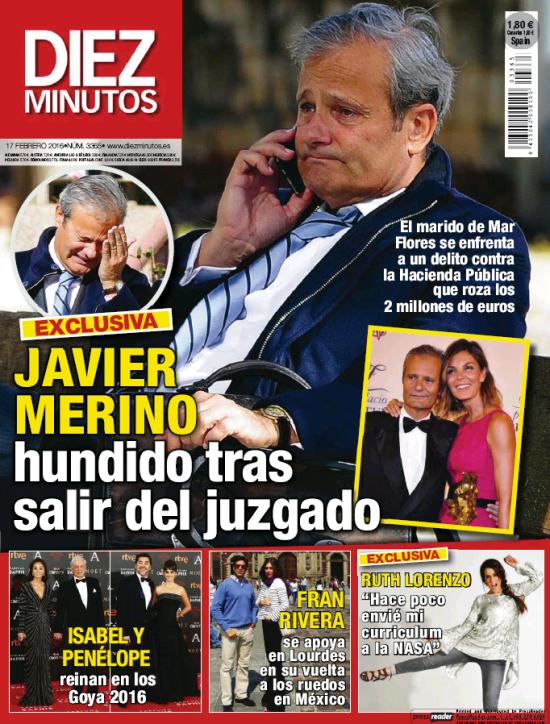 DIEZ MIUTOS portada 10 de Febrero 2016