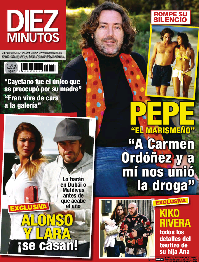 DIEZ MINUTOS portada 17 de Febrero 2016