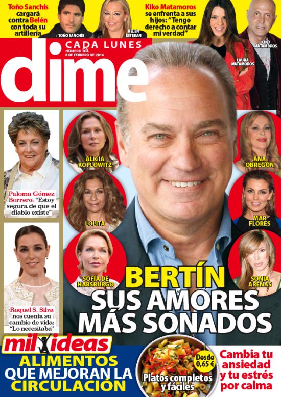 DIME portada 1 de Febrero 2016