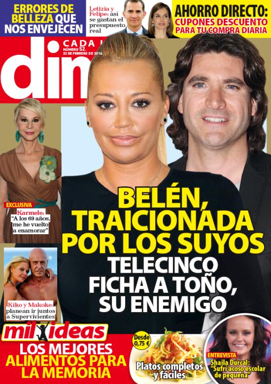 DIME portada 14 de Febrero 2016