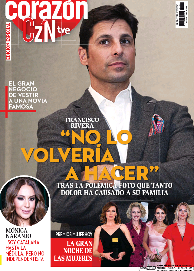 HOY CORAZON portada 7 de Febrero 2016