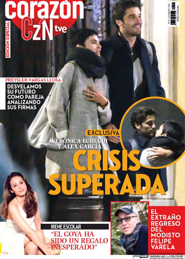 HOY CORAZON portada 21 de Febrero 2016
