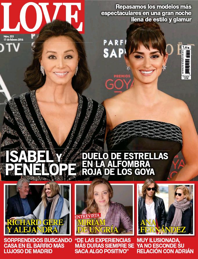 LOVE portada 10 de Febrero 2016