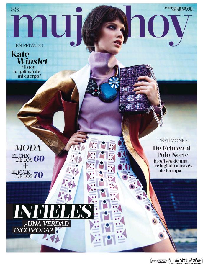 MUJER HOY portada 28 de Febrero 2016