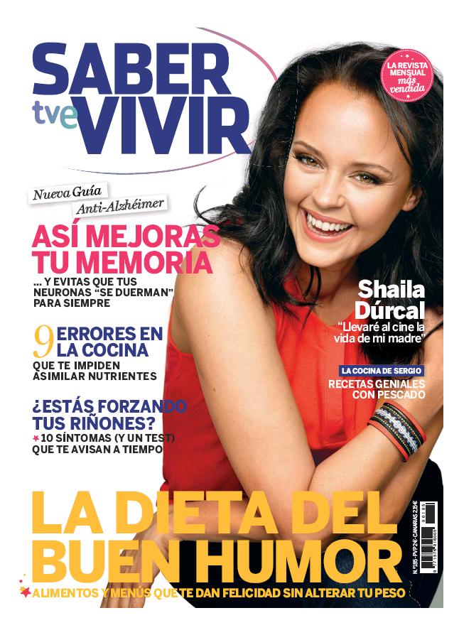 SABER VIVIR portada Marzo 2016