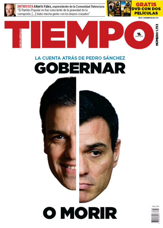 TIEMPO portada 7 de Febrero 2016