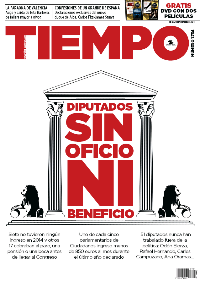 TIEMPO portada 14 de Febrero 2016