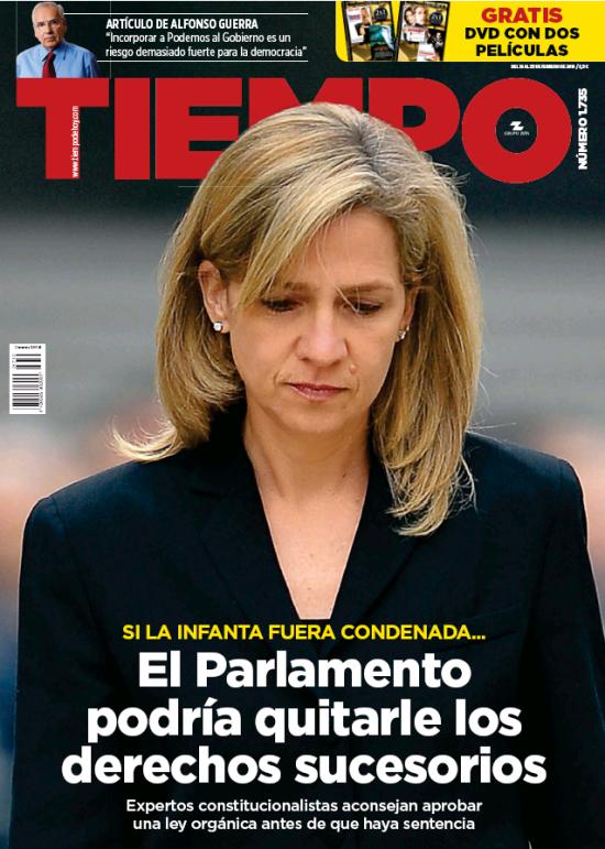 TIEMPO portada 21 de Febrero 2016