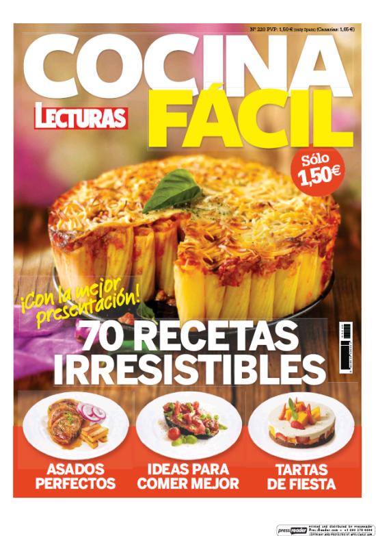COCINA FACIL portada Abril 2016