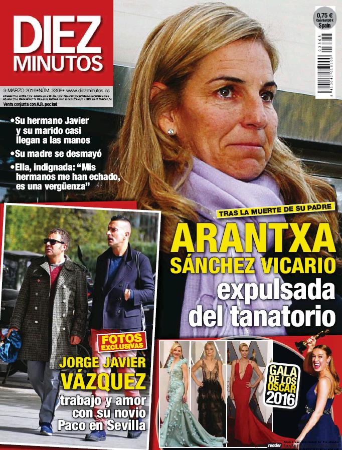 DIEZ MINUTOS portada 2 de Marzo 2016