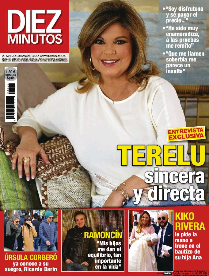 DIEZ MINUTOS portada 16 de Marzo 2016