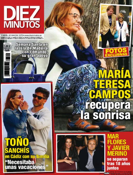 DIEZ MINUTOS portada 30 de Marzo 2016