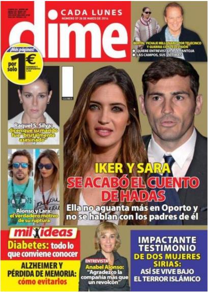 DIME portada 21 de Marzo 2016