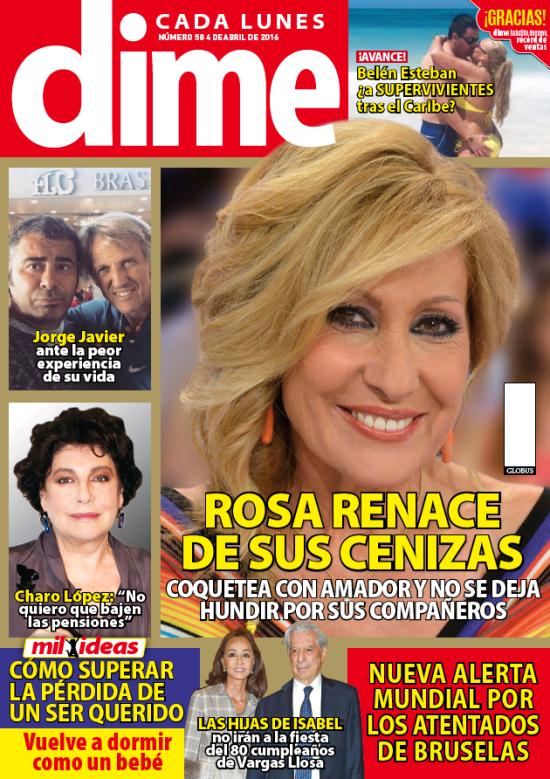 DIME portada 31 de Marzo 2016